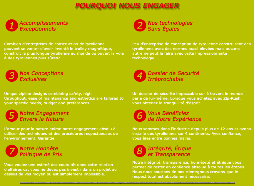 Pourquoi nous engager